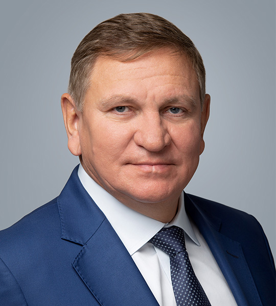Vice-President, member of the Supervisory Board Sergey Vladimirovich