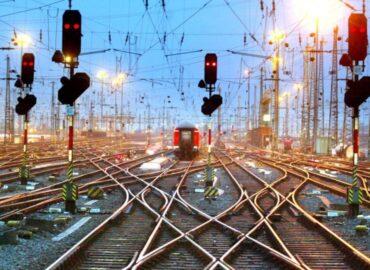 Предварительные данные по выпуску комплектующих для железнодорожной инфраструктуры за 4 месяца 2021 г.