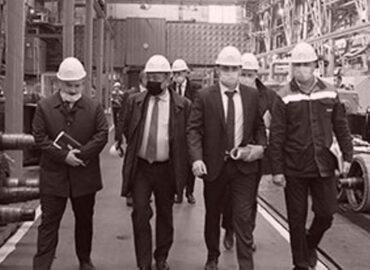 Руководство Группы компаний «ЛокоТех» посетило Ростовский электровозоремонтный завод